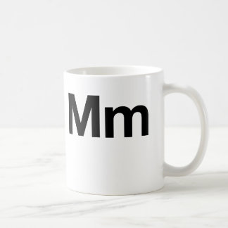 Milímetro Helvética Tazas De Café