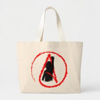 Militant Atheist Tote Bags