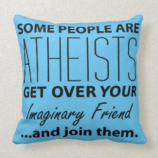 Militant Atheist: Some People Are Atheists! Throw Pillow
