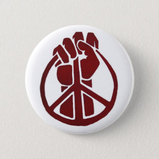 Militant for Peace Button