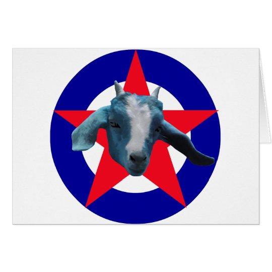 Militant Goat Card