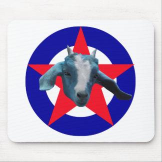 Militant Goat Mouse Pad
