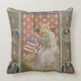 Militant Justice, from the Salone del Consiglio (C Throw Pillow