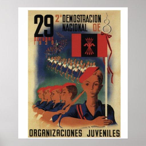 Militant youth movement (1939)_Propaganda Poster