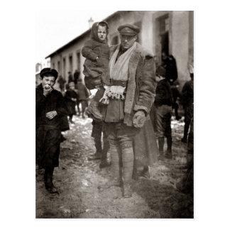 Militar americano del campo de WWI + Huérfanos fra Postales