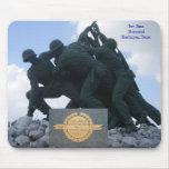 Militar - monumento de Iwo Jima Alfombrilla De Raton