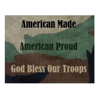 Militares americanos postales