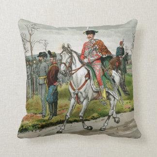 Militares austrohúngaros del imperio almohadas