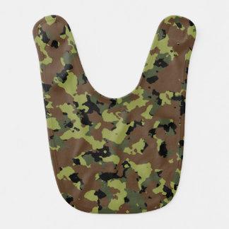 Militares Camo del verde de musgo Baberos Para Bebé