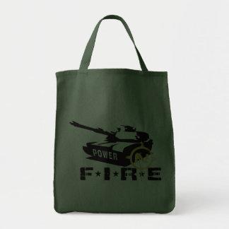 Militares Canon del poder de fuego Bolsas