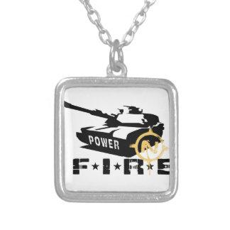 Militares Canon del poder de fuego Joyería
