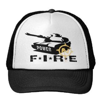 Militares Canon del poder de fuego Gorro De Camionero