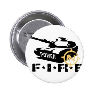 Militares Canon del poder de fuego