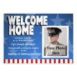 Militares caseros agradables invitación personalizada