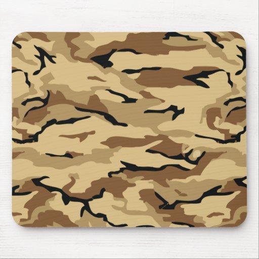 militares, cojín de ratón del camuflaje del mono d alfombrillas de raton