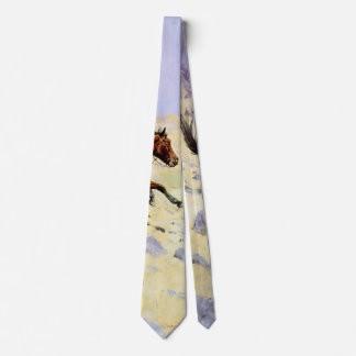 Militares de la caballería del vintage, el vaquero corbata personalizada