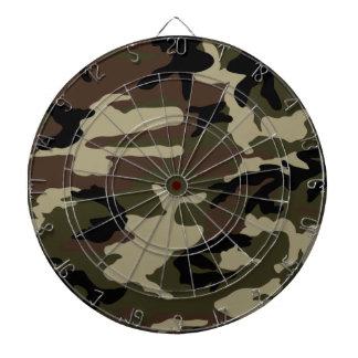 militares de la impresión del camuflaje del modelo tablero de dardos