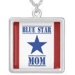 Militares de la mamá de la estrella azul joyeria personalizada