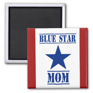 Militares de la mamá de la estrella azul iman para frigorífico