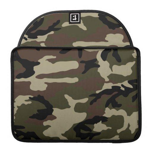 militares del ejército del modelo del camuflaje de fundas macbook pro