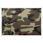 militares del ejército del modelo del camuflaje de mantel individual