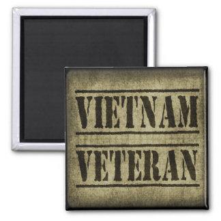Militares del veterano de Vietnam Imán Cuadrado