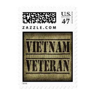 Militares del veterano de Vietnam Sellos
