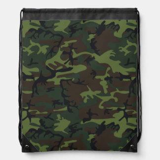 Militares o búsqueda de camuflaje verde, mochilas