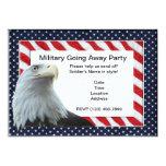 Militares que van lejos invitaciones del fiesta anuncio
