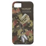 Militares verdes de color caqui de Camo - personal iPhone 5 Case-Mate Cobertura