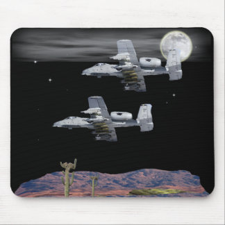 Military A-10 warthog Mouse Pad