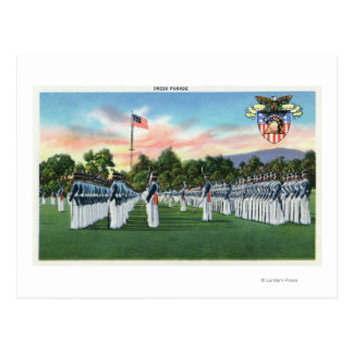 Military Academy Dress Parade # 2 Postcard