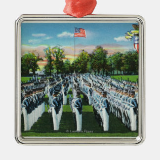Military Academy Dress Parade Metal Ornament