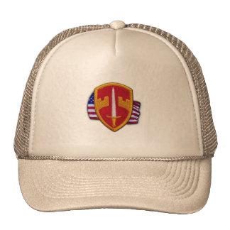 military advisor macv sog vietnam veterans vets ha trucker hat