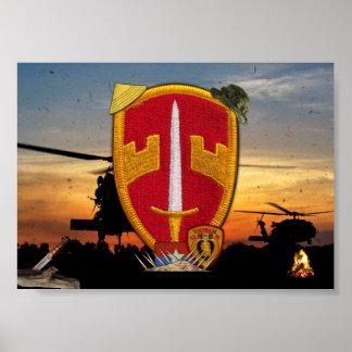 Military Advisors MACV Vietnam Nam War Patch Poster