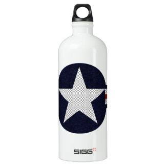 Military air corps roundel aluminum water bottle