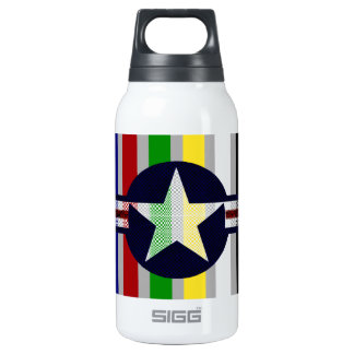 Military air corps roundel thermos bottle