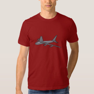 Military AirForce B52 Bomber Aircraft In Flight Tshirts