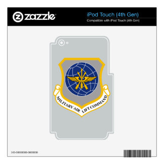 Military Airlift Command (MAC) Decals For iPod Touch 4G