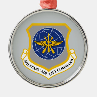 Military Airlift Command (MAC) Metal Ornament