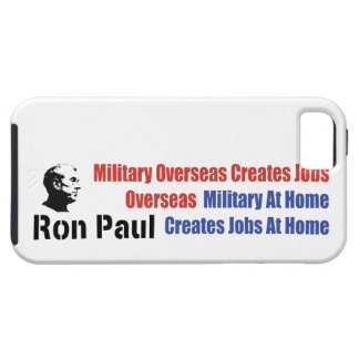 Military At Home Creates Jobs At Home Ron Paul iPhone SE/5/5s Case