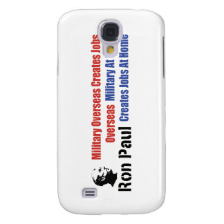 Military At Home Creates Jobs At Home Ron Paul Samsung Galaxy S4 Cover