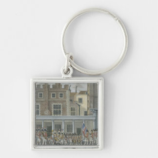 Military Band at St. James' Palace, late 18th cent Keychains
