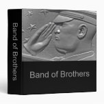 Military Band of Brothers Photo Album 3 Ring Binders