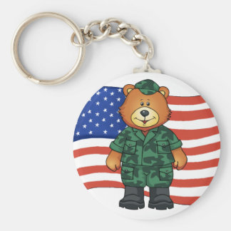 Military Bear - SRF Keychain