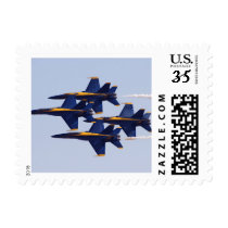 Military Blue Angel Fighter Jets Postage