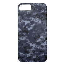 Military Blue Camo Barely There iPhone 7 Case