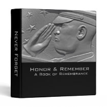 Military Book of Remembrance Binder