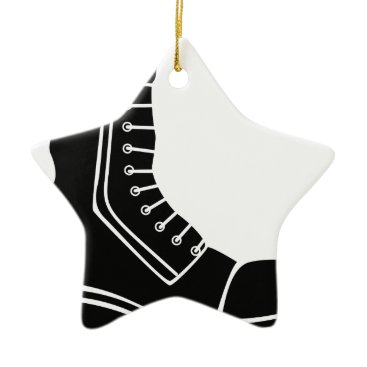 Military Boot Ceramic Ornament