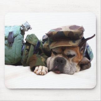 Military boxer mousepad